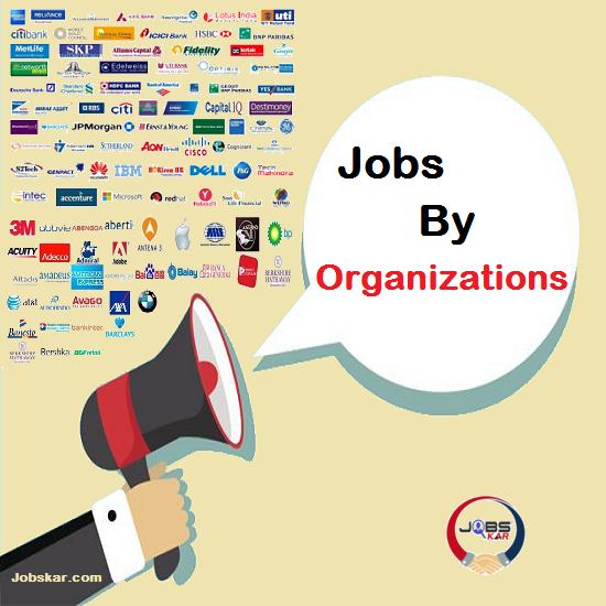 Organization Wise Jobs