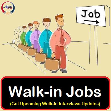 Walkin Jobs